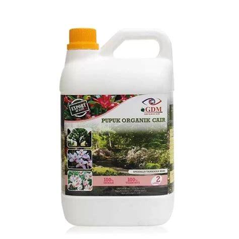 pupuk organik cair poc gdm tanaman hias liter