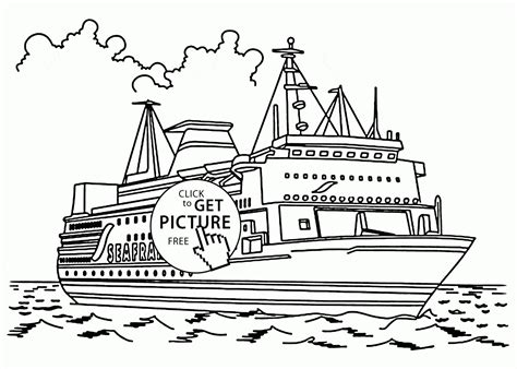 Sail Boat Coloring Pages To Print Free Coloring Books