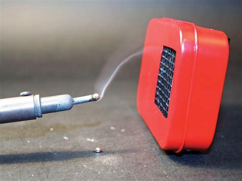 cigarette smoke extractor fans mini fume extractor make
