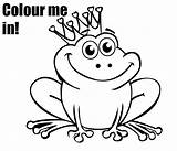 Frog Coloring Pages Prince Princess Colouring Baby Cute Drawing Frogs Tree Printable Sheet Kiddycharts Printables Print Drawings Eyed Coqui Leapfrog sketch template