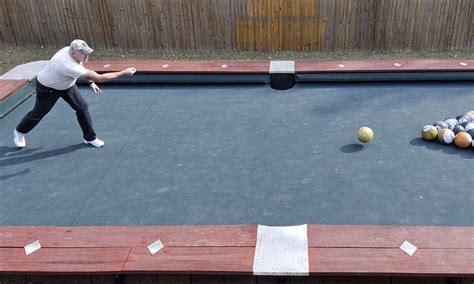 how many feet is a pool table big break giant pool table is 30 feet long and uses 6lb