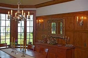 Vintage dining room lighting traditional