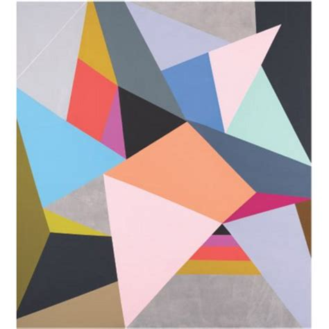 Abstract Colorful Geometric Shapes by Aliexpress Buy Painted Modern Abstract