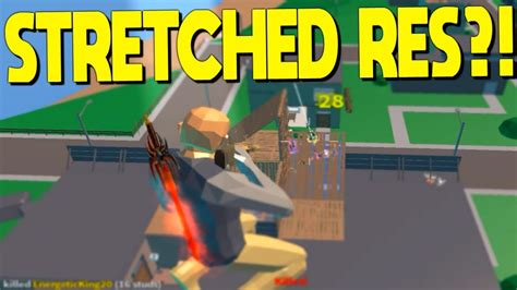 won  stretched resolution  strucid roblox