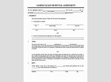 Rental Agreement Template Write a Perfect Agreement