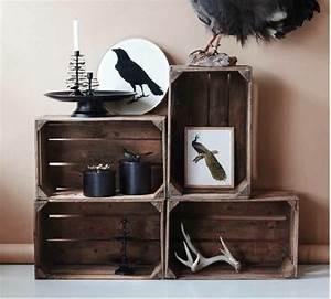 Cagette Bois Deco : cagette en bois les recycler et d tourner en meuble d co cagette meuble deco et blog deco ~ Teatrodelosmanantiales.com Idées de Décoration