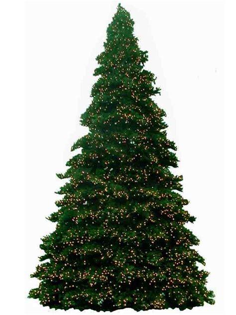14 foot christmas trees prelit m5 led bulbs