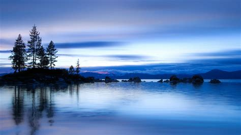 Full Moon Sky Wallpaper Blue Nature Wallpapers 63 Images