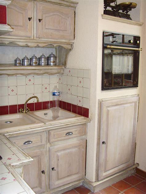 cuisine effet bois relooking meubles cuisines barocante