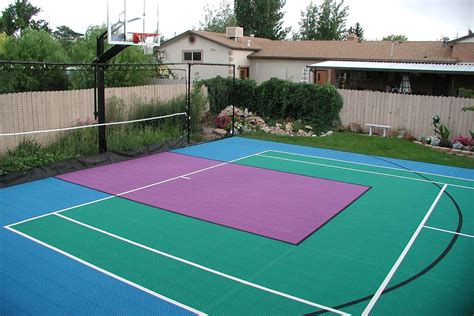 the 3 best flex court base surfaces for a multi court