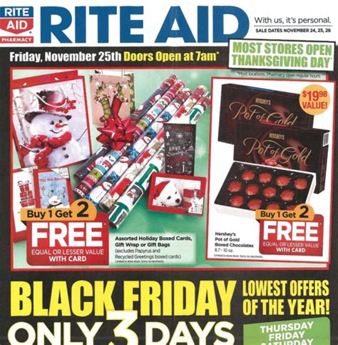 Rite Aid Black Friday Deals  Full Ad Scan  The Gazette Review