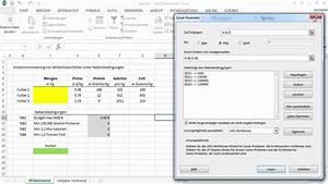 Lineare Programmierung  Optimierung Mit Dem Excel