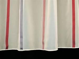 Vorhänge Rot Weiß : toller stores gardinenstoff bleiband weiss rot 260cm hoch gardinenstoffe gardinenstoffe ~ Orissabook.com Haus und Dekorationen