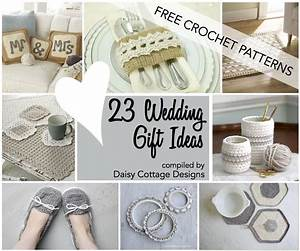 wedding crochet patterns 23 free crochet patterns daisy With wedding gift ideas for bride