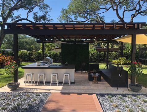 custom pergolas miami fort lauderdale  patio district