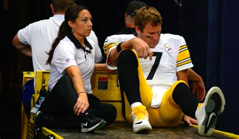 93 7 the fan morning show roethlisberger hasn t thrown brown still in concussion