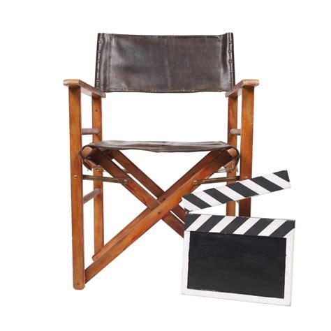 chaise r alisateur autocollant mural sur le thème du cinéma sticker chaise