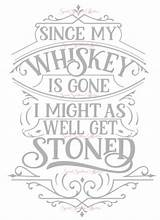 Svg Gone Whiskey Since Etsy Cricut Coloring Pages Quote Adult Glass Quotes Coffee Printable Stencils Letters Vinyl Crafts Crafting Block sketch template