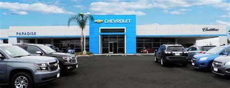 paradise chevrolet cadillac temecula valley auto mall