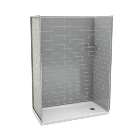 Maax Shower Stalls Installation - maax utile metro 32 in x 60 in x 83 5 in alcove shower