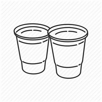 Cup Solo Icon Cups Plastic Measuring Kitchen