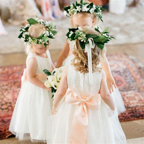 adorable flower girls  real weddings