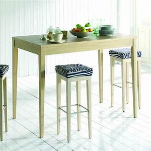 Table De Cuisine Haute : table bar de cuisine brin d 39 ouest ~ Dailycaller-alerts.com Idées de Décoration