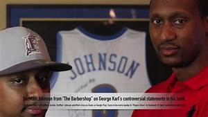 "DerMarr Johnson from ""The Barbershop"" on controversial ..."