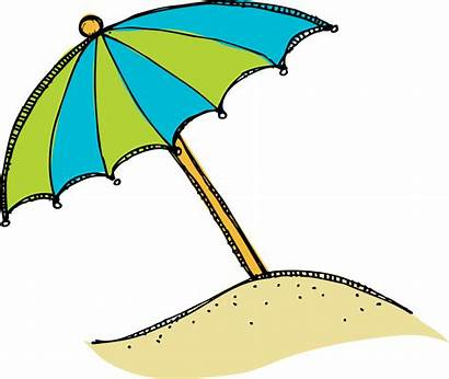 Umbrella Clip Clipart Beach Clipartion