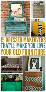 15 Dresser Makeovers That'll Make You Love Your Old