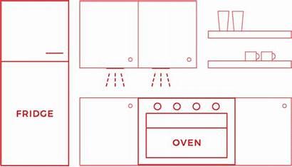 Kitchen Layouts Inspiration Plans Floor
