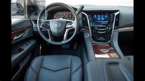 Cadillac Escalade Luxury Interior 2015 Youtube