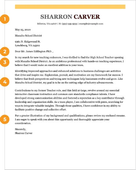 cover letter formats advice   win   job