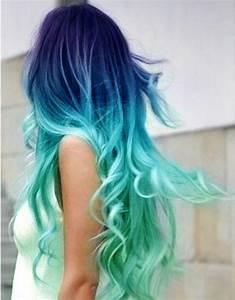 30 Dip-Dye Hair Patterns