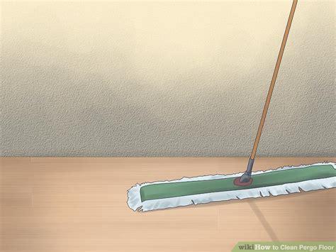 cleaning pergo floors 3 ways to clean pergo floor wikihow