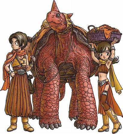 Dragon Quest Hero Human Heroine Characters Dragonquest