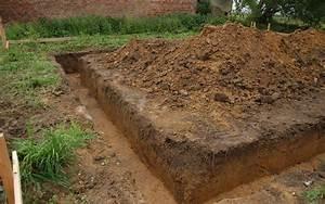 definition fouille en rigole futura maison With maison en beton coule 5 fondations fondation maison etage les etapes de construction