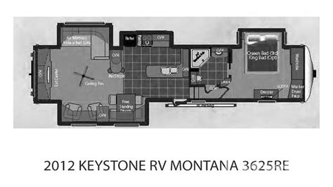 montana fifth wheel floor plans 2012 lazydays
