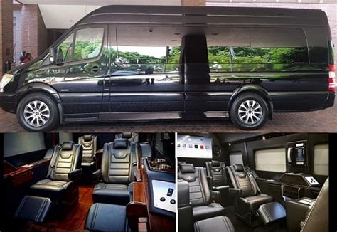 Atlanta Luxury Sprinter Van Rental  Mercedes Benz