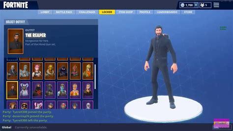 fortnite account ps  xbox read description  skins