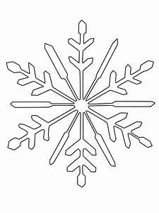 Schneeflocken Basteln Vorlagen : ausmalbild schneeflocken und sterne schneeflocke zum ausmalen kostenlos ausdrucken ~ Frokenaadalensverden.com Haus und Dekorationen