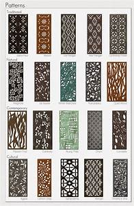 20 parasoleil patterns in several finishes for aluminum With kitchen cabinets lowes with plasma cut wall art