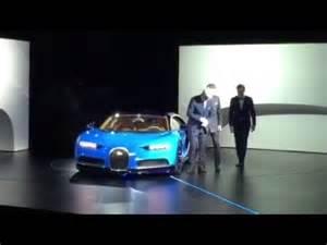 Motor Live Youtube : bugatti chiron live unveil geneva motor show 2016 youtube ~ Medecine-chirurgie-esthetiques.com Avis de Voitures
