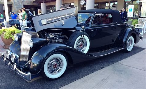 1930's Classic American Packard Twelve At Cars And Coffee