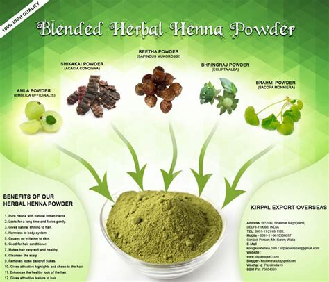 Nature T Henna Powder For Hair Growth Buy Henna