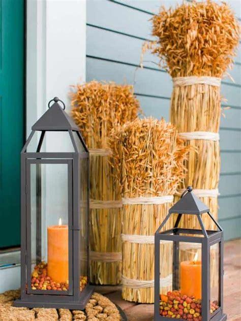 beautiful ways  decorate  fall  lanterns