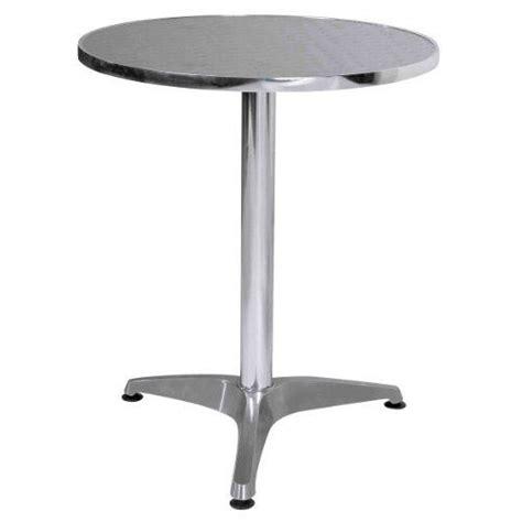 table bistrot aluminium premier housewares table ronde bistrot aluminiu achat