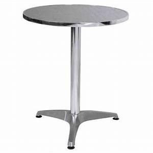 Table Ronde Aluminium : premier housewares table ronde bistrot aluminiu achat vente mange debout premier housewares ~ Teatrodelosmanantiales.com Idées de Décoration