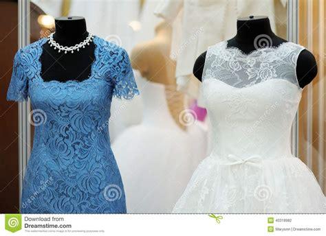 wedding dress   mannequin stock photo image