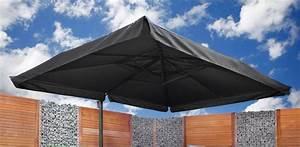 Teppich 400 X 400 : luxe parasol rotterdam 300 x 400 cm antraciet ~ Whattoseeinmadrid.com Haus und Dekorationen